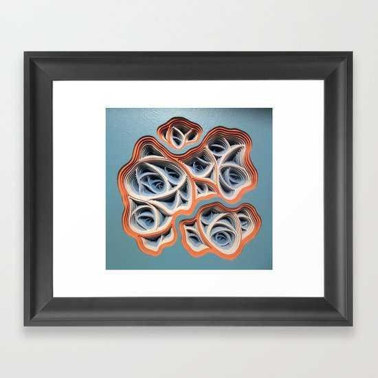 Necrotic Radimafungle Movement #2 Framed Art Print