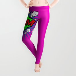 Boom Pink Boom Leggings