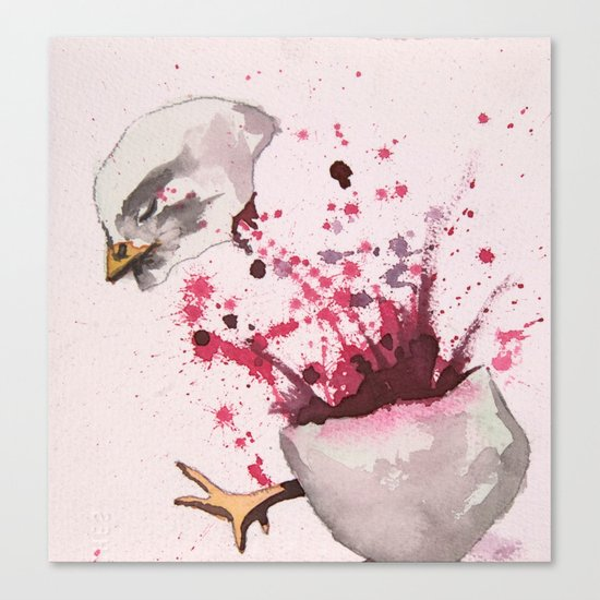 Chick 740 of 5,326 Canvas Print