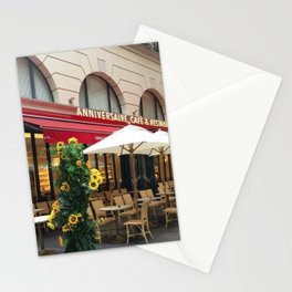 Anniversary Cafe and Restaurant Stationery Cards