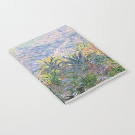 Claude Monet Palm Trees at Bordighera Notebook