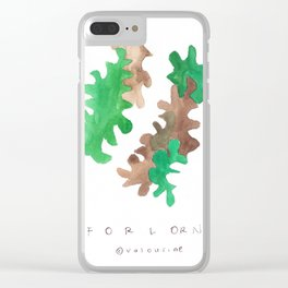 Matisse Inspired   Becoming Series    Forlorn Clear iPhone Case
