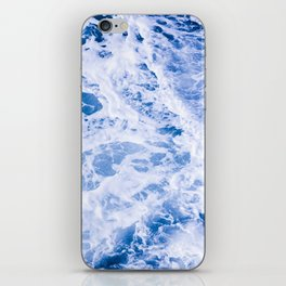 Beautiful Blue Waves iPhone Skin