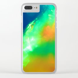 Colossal Collision Clear iPhone Case