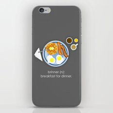 Brinner iPhone & iPod Skin