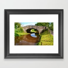 Bridge 162, Monmouthshire & Brecon Canal Framed Art Print