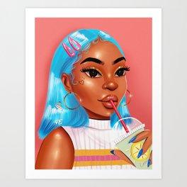 GOODVIBESONLY Art Print