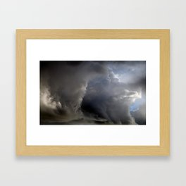 Cloud Comber Framed Art Print