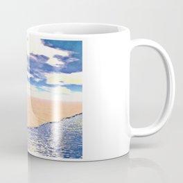 Desert Elephant Quest For Water Coffee Mug
