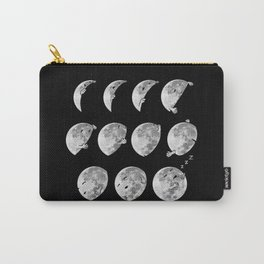 lunar phases of sleep Carry-All Pouch