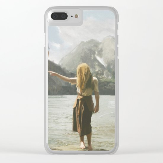 Floating Clear iPhone Case