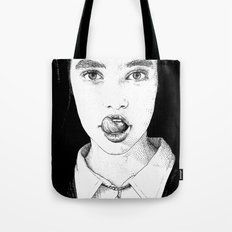 asc 228 - La Pureté (Purity is for madmen to make fools of us all) Tote Bag