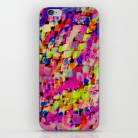 mineral iPhone & iPod Skins featuring Mineral Neon by Amy Sia
