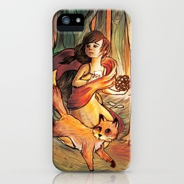 Once upon a....? iPhone Case