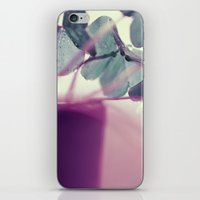 clover iPhone & iPod Skins featuring clover by Ingrid Beddoes