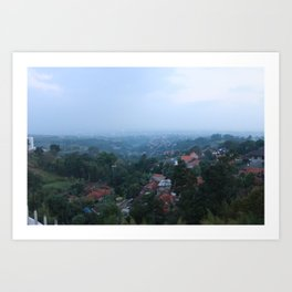 from the mountains.. Art Print