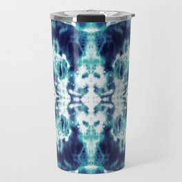 Celestial Nouveau Tie-Dye Travel Mug