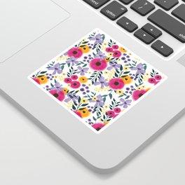 Spring Floral Bouquet Sticker