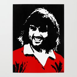 George Best MUFC Poster