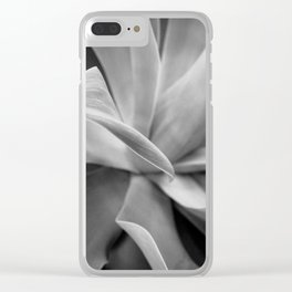 Agave Noir Clear iPhone Case