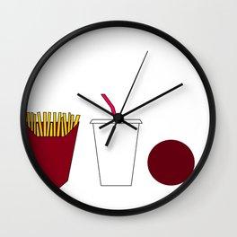 Aqua teen hunger force minimalist  Wall Clock