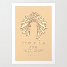 POW WOW - 043 Art Print