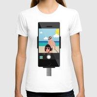 selfie T-shirts featuring Selfie? by Chiara Belmonte