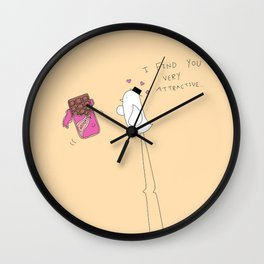 I Find You Very Attractive Wall Clock