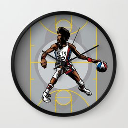 DR. J: On the Offensive Wall Clock