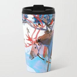 Reindeers and friends Travel Mug