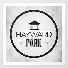 Hayward Park Art Print