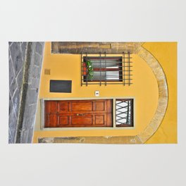 Italian Doorway, House Number 1 Rug