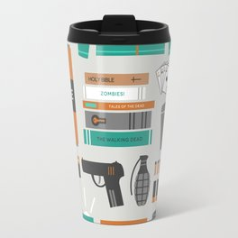 Zombie Survival Kit Travel Mug