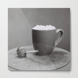 Hot Chocolate and Cigarettes Metal Print