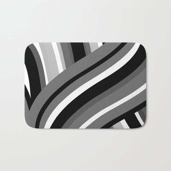 Twisted Turn Bath Mat