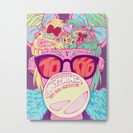 Tokyo Travel Poster Metal Print