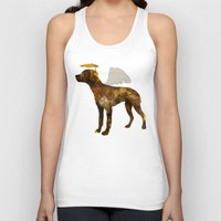 puppies Tank Tops featuring puppies by shrewmole