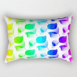 Columns Of Color Rectangular Pillow