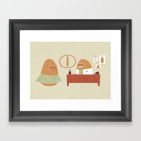 Plastic Surgery Framed Art Print