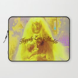 Constance the Ghostly Black Widow Bride in the Attic Laptop Sleeve