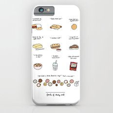 Foods of 30 Rock Slim Case iPhone 6s