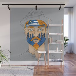 Forest Man Wall Mural