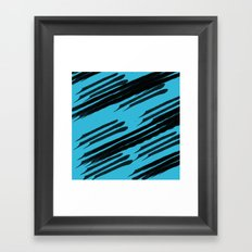 Seeing Stripes Framed Art Print