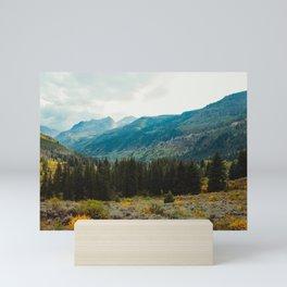 Aspen Evergreens Mini Art Print