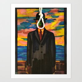 We are the hanged man Art Print