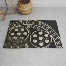 Manhole Cover 2 Rug