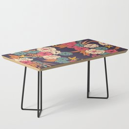 Jungle Pattern 006 Coffee Table