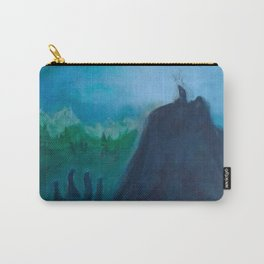 A Humble Place To Sit and Burn Carry-All Pouch