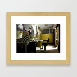 Barber Framed Art Print