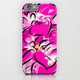 Pink Oblivion iPhone Case